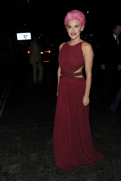 Ashley Roberts Cutout Dress