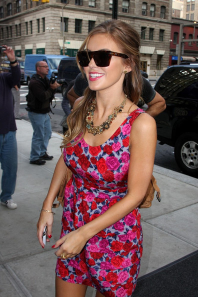 Audrina Patridge Gemstone Statement Necklace