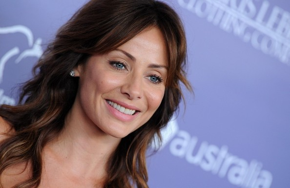 Natalie Imbruglia went for a sweet natural look with light makeup and pink lipstick at the Breakthrough Awards.