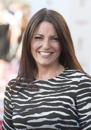 Davina McCall went for simple styling with this sleek straight 'do at the BAFTA Awards.