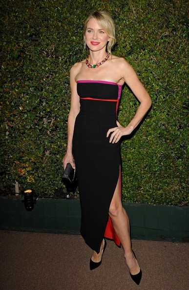 More Pics of Naomi Watts Strapless Dress (1 of 12) - Naomi Watts Lookbook - StyleBistro