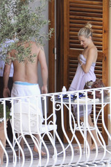 Sienna Miller Balthazar Getty Balthazar Getty Becomes Ill in Positano