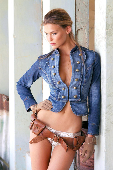Bar Refaeli Denim Jacket