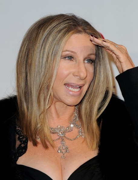 Barbra Streisand Diamond Chandelier Necklace