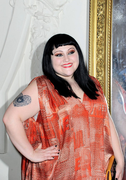 Beth Ditto Heart Tattoo
