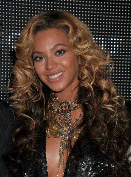 Beyonce Knowles Long Curls