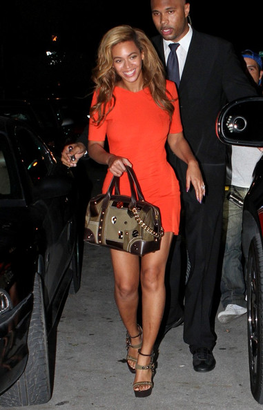 Beyonce Knowles Oversized Tote