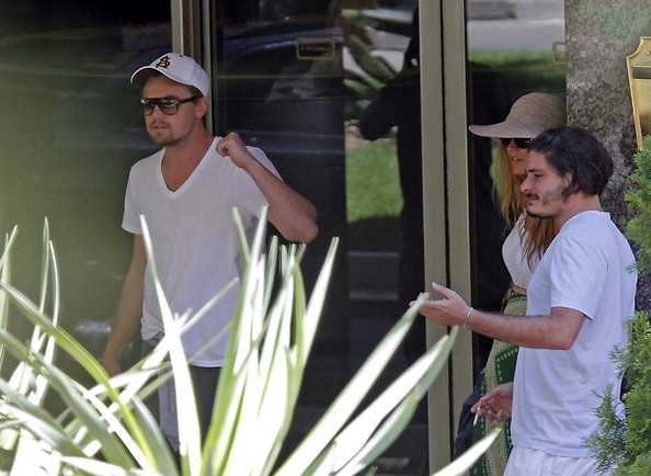 Blake Lively and Leonardo DiCaprio at African Queen Restaurant