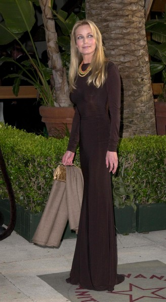 Bo Derek Evening Dress - Bo Derek Looks - StyleBistro