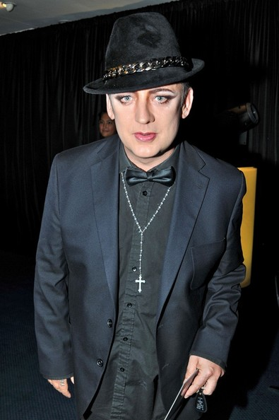 Boy George Cross Pendant