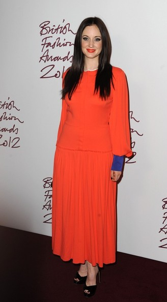 Andrea Riseborough at the 2012 British Fashion Awards