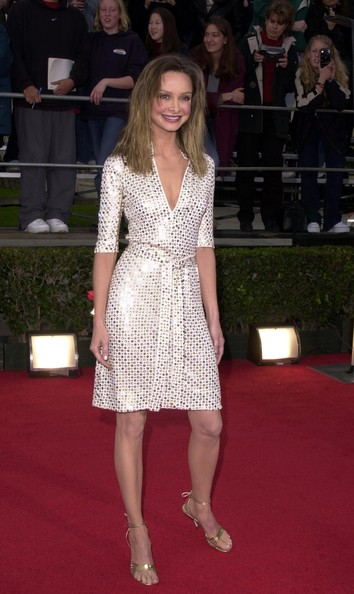 Calista Flockhart Cocktail Dress