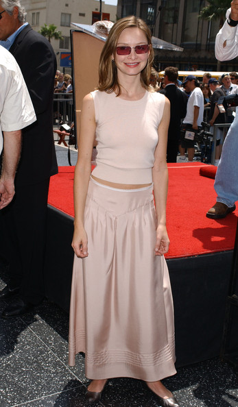 Calista Flockhart Long Skirt