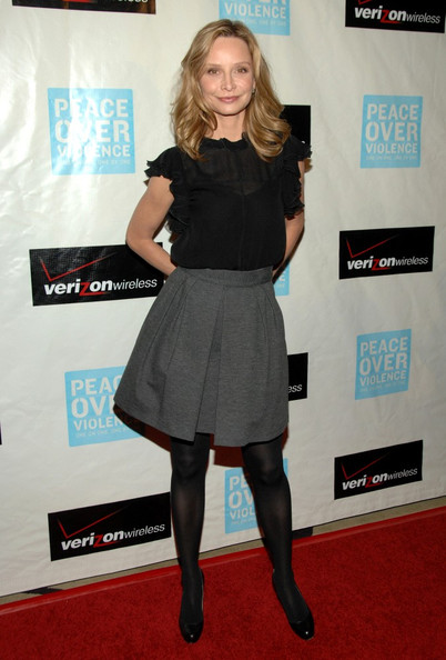Calista Flockhart Evening Pumps