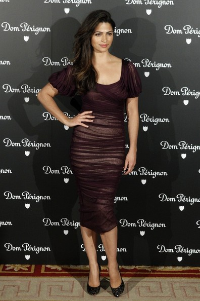 Camila Alves Cocktail Dress []
