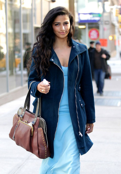 Camila Alves Leather Tote []