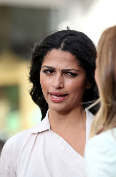 More Pics of Camila Alves Cowl Neck Top  (4 of 13) - Tops Lookbook - StyleBistro []