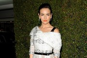 Camilla Belle Metallic Clutch