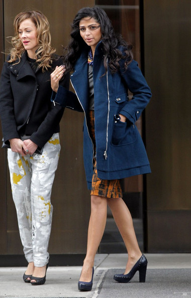 More Pics of Camila Alves Utility Jacket (6 of 9) - Outerwear Lookbook - StyleBistro []