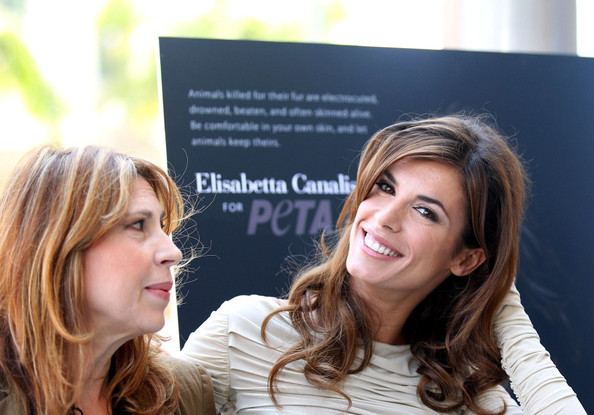 More Pics of Elisabetta Canalis Long Curls (1 of 11) - Elisabetta Canalis Lookbook - StyleBistro