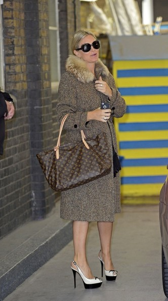 Caprice Bourret Wool Coat