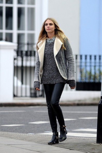 Cara Delevingne Fitted Jacket