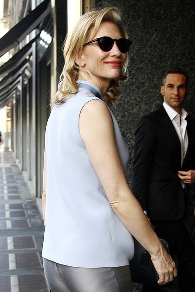 Giorgio Armani and Cate Blanchett Hang Out Together