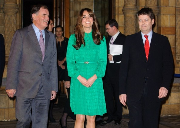 More Pics of Kate Middleton Long Curls with Bangs (1 of 6) - Kate Middleton Lookbook - StyleBistro
