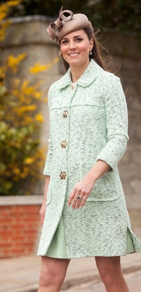 More Pics of Kate Middleton Tweed Coat (1 of 15) - Tweed Coat Lookbook - StyleBistro