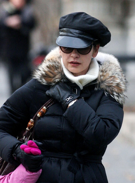 Catherine Zeta-Jones Newsboy Cap