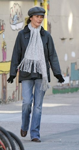 Catherine Zeta-Jones Wool Scarf