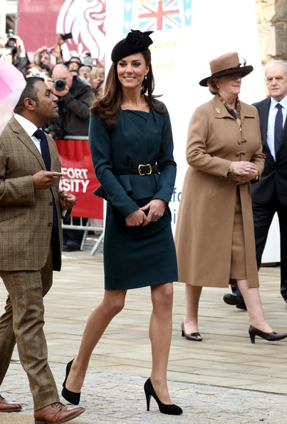 More Pics of Kate Middleton Decorative Hat (1 of 16) - Kate Middleton Lookbook - StyleBistro