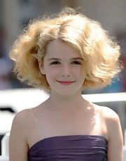 Kiernan pumped up the volume at the premiere of 'Cats & Dogs'. The actress teased her cute bob for extra height and dimension.