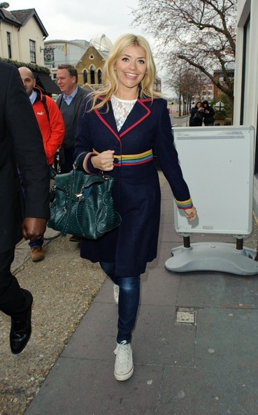 More Pics of Holly Willoughby Wool Coat (1 of 5) - Wool Coat Lookbook - StyleBistro
