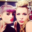 Kelly Osbourne Puckers Up