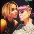 Ciara and Kelly Osbourne Get Fierce at the AMAs