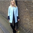 Peaches Geldof Looks Pretty in Baby Blue