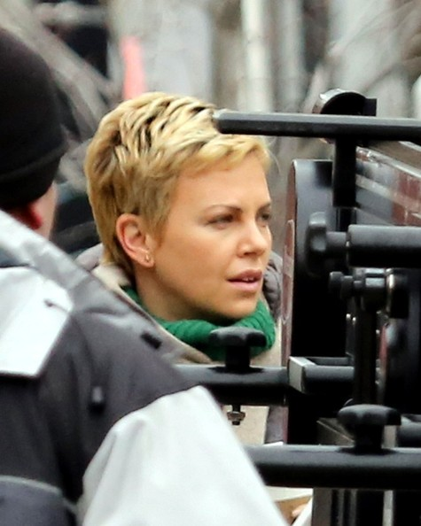 More Pics of Charlize Theron Down Jacket (2 of 20) - Charlize Theron Lookbook - StyleBistro