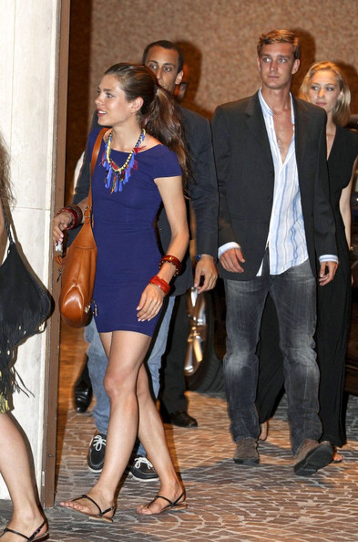 Charlotte Casiraghi Mini Dress
