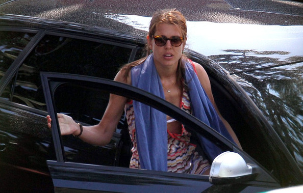 Charlotte Casiraghi Solid Scarf []