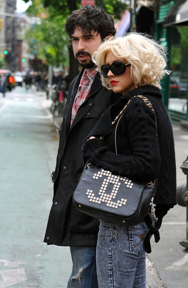 Christina Aguilera Chain Strap Bag