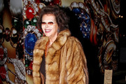 Claudia Cardinale Fur Coat