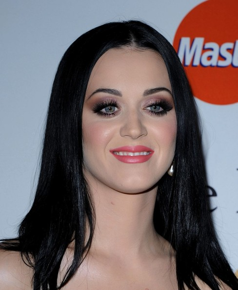 More Pics of Katy Perry Long Straight Cut (2 of 14) - Katy Perry Lookbook - StyleBistro []