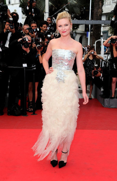 Kirsten Dunst at the 2011 Cannes Film Festival