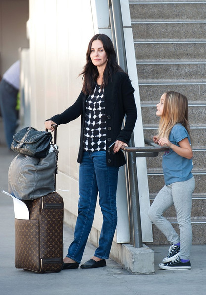 Courteney Cox Canvas Sneakers
