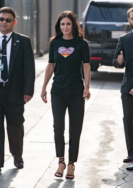Courteney Cox Graphic Tee
