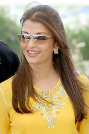These shades are the perfect shape for the bollywood stars exotic face.