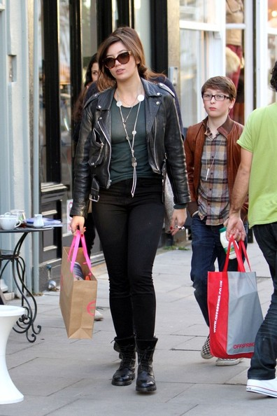 Daisy Lowe Motorcycle Jacket