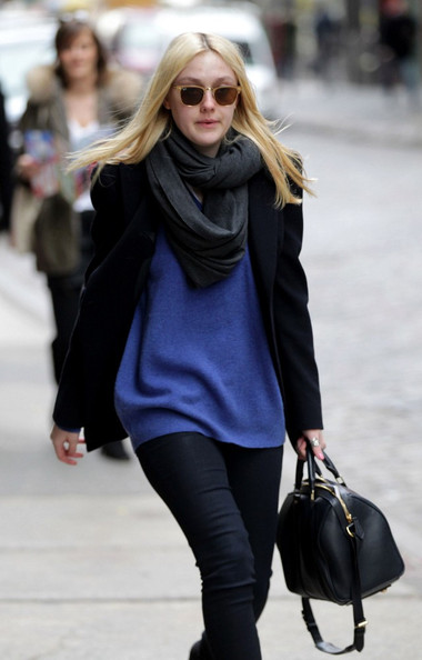 Dakota Fanning Knit Top