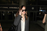 Dakota Johnson Wool Coat